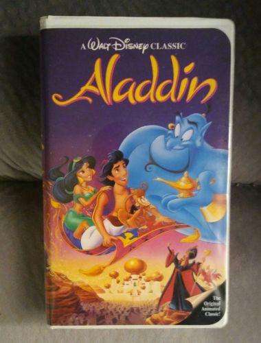 ALADDIN, RARE, 1993 DISNEY'S BLACK DIAMOND CLASSIC