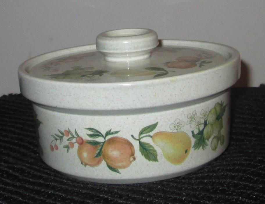 WEDGWOOD QUINCE INDIVIDUAL CASSEROLE DISH