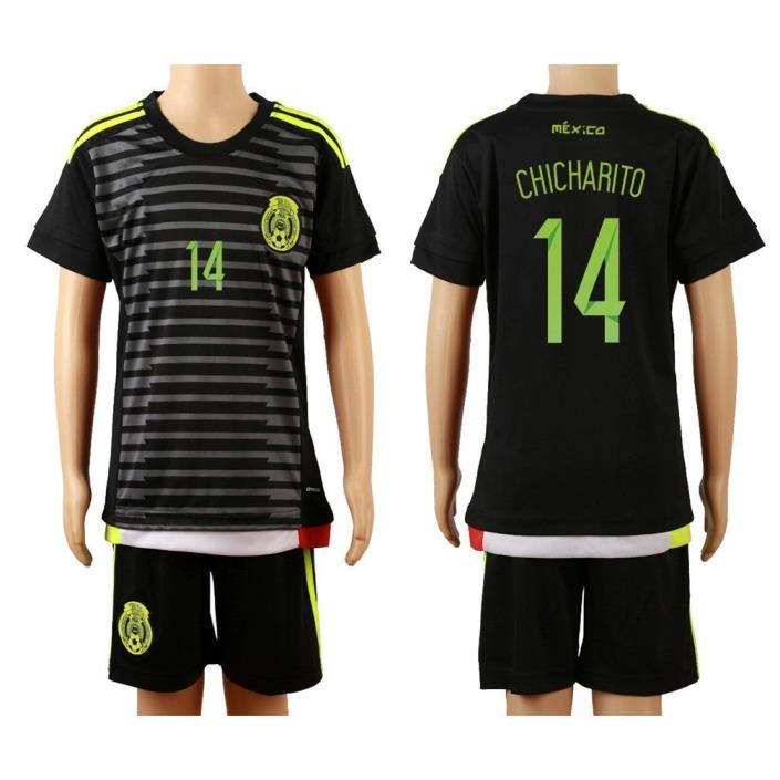 chicharito Mexico home jersey youth sizes USA seller
