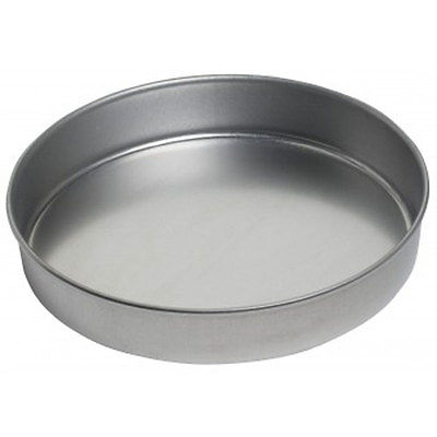 FOCUS FOODSERVICE 10IN CAKE PAN ROUND ALUMINIZED STEEL - 901025