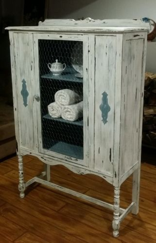 Antique 1920's China Cabinet