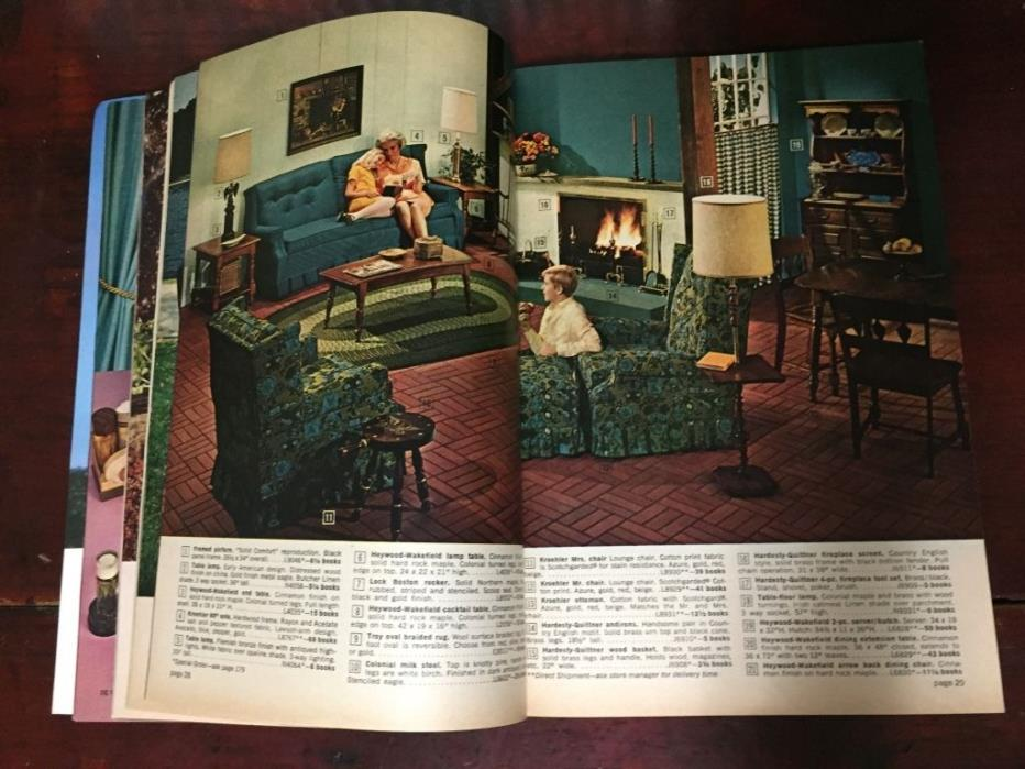 S&H Green Stamps Ideabook Merchandise Catalog 73 Mid Century Furniture Tools Vtg