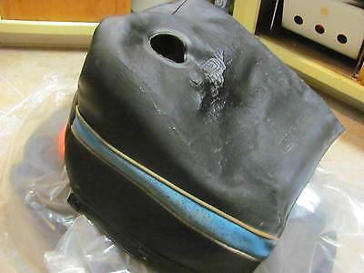 Vintage SNOWMOBILE Polaris Indy Gas Fuel TANK COVER seat 1984-1992 488 500 650