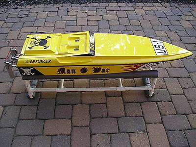 Enforcer Man-O-War RC Gas Boat