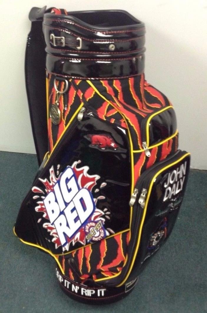1 of 1 - Authentic John Daly - Tour Staff Golf Bag