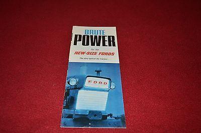 Ford Commander 6000 5000 4000 3000 2000 Tractor Dealer's Brochure DCPA7 ver2