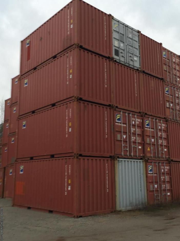 Cargo Worthy Shipping Containers