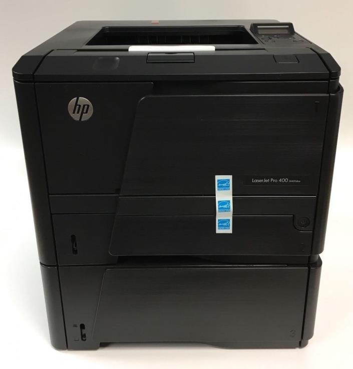 HP LaserJet Pro 400 M401dne Laser Printer w/ 500 Sheet Tray / Feeder CF399A#BGJ