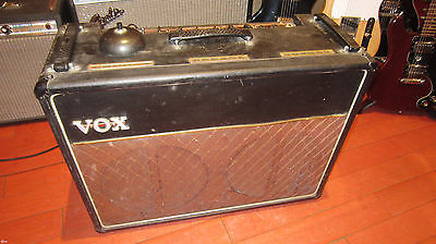 Vintage 1964 Vox AC-30/6 Treble Tone Boost Guitar Amplifier Original Footswitch