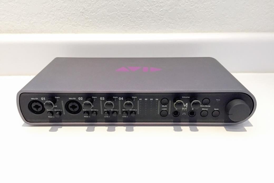 Avid Digidesign Pro Tools Mbox 3 Pro Digital Audio Interface