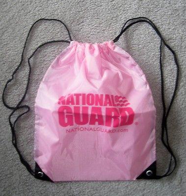 National Guard Lightweight Pink Backpack