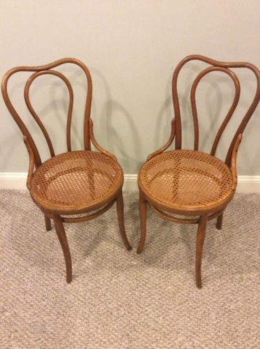 THONET  bentwood Ice cream Parlor Chairs
