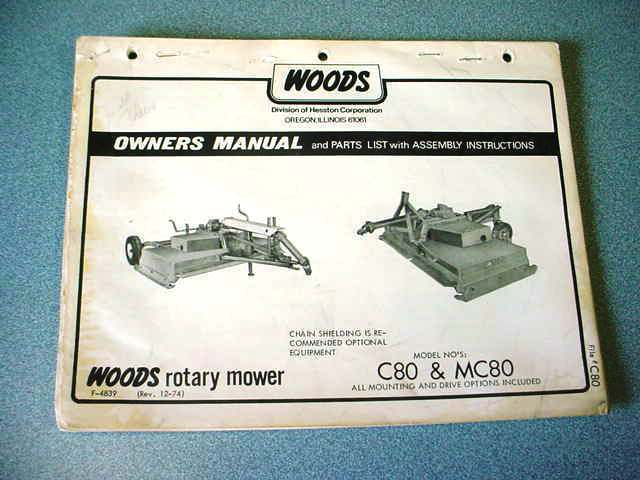 Woods Mowers Parts - For Sale Classifieds