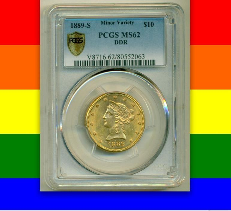 124-pc $10 Liberty Varieties PCGS/NGC MS60-63 IN STOCK NOW