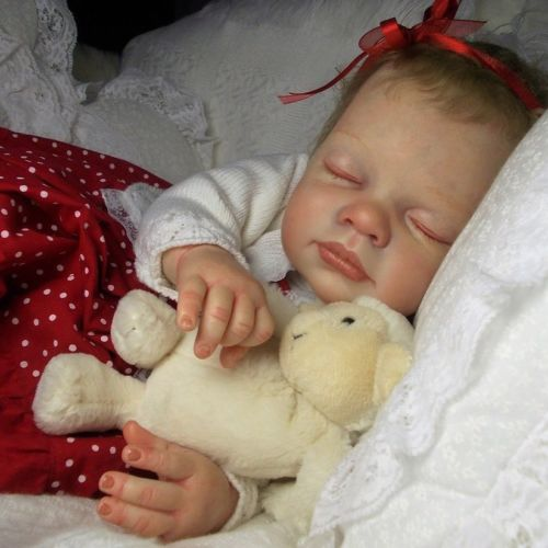 GORGEOUS baby Abigail by Reva Schick reborn doll AMAZING quality