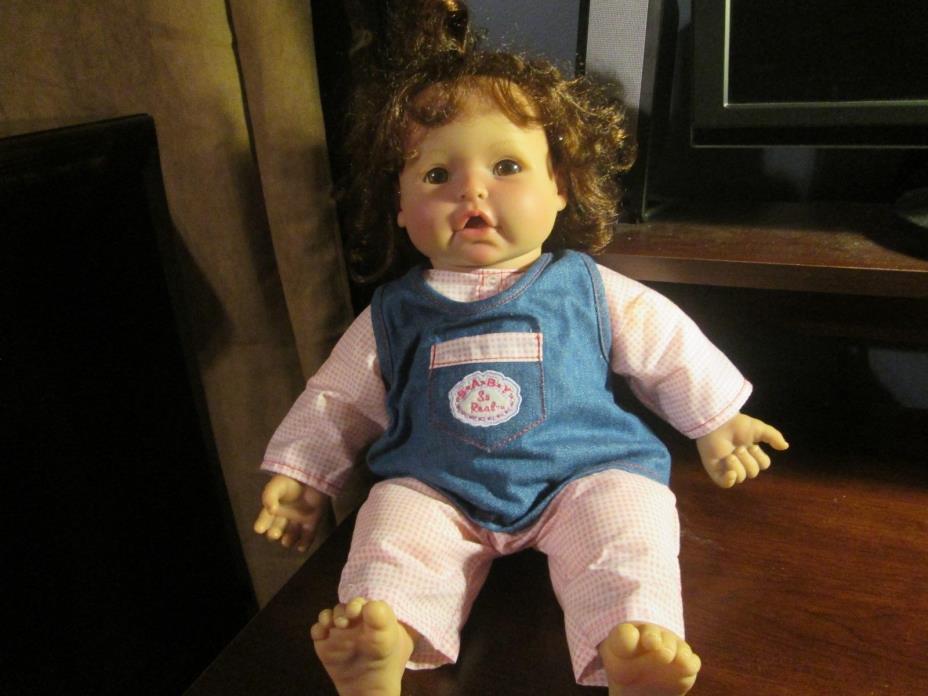 Irwin toy 2007 Baby so real lifelike baby doll