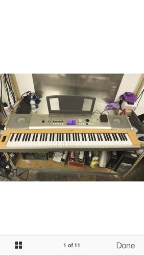 Yamaha 88 key keyboard for sale classifieds for Yamaha ypg 535 weighted keys