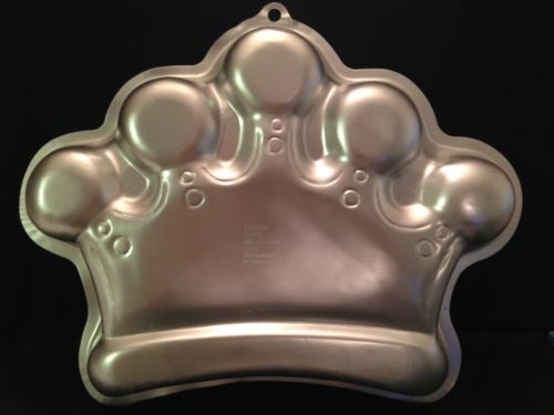 Wilton Cake Pan Crown Queen King  2006 #2105-1015 Printed Instructions GUC