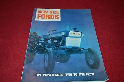 Ford Commander 6000 5000 4000 3000 2000 Tractor Dealer's Brochure DCPA7