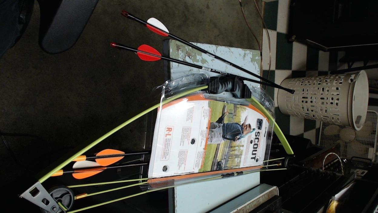 @NEW@ Bear Archery Youth Scout Compound Target Bow Package/Kit w/ arrows & mor