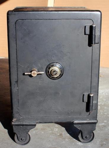 Antique Yale Iron Floor Safe S67800 with Combination