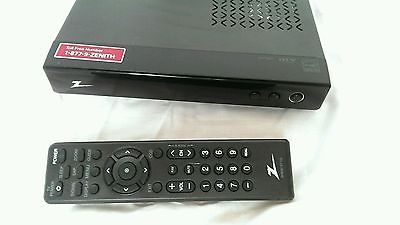 Zenith DTT901 Digital TV Tuner Converter Box w/ remote