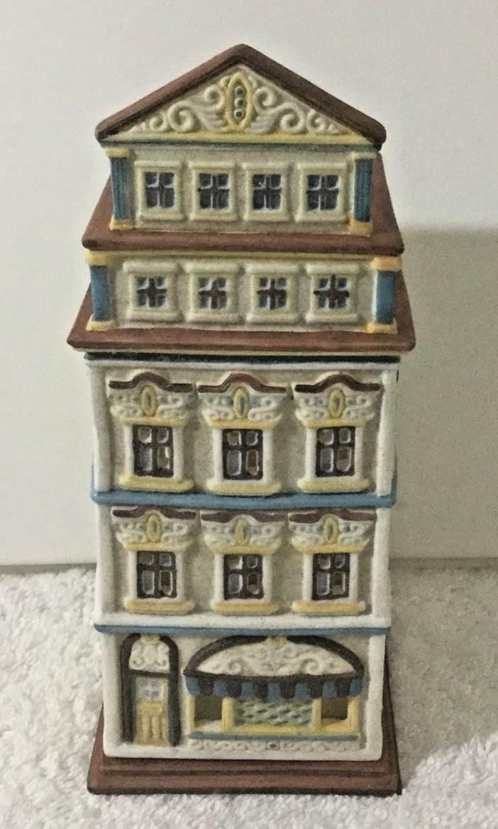 PARTYLITE TEALIGHT HOUSE Cafe Vienna NIB