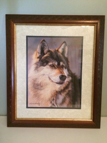 Home Interior Wolf Picture