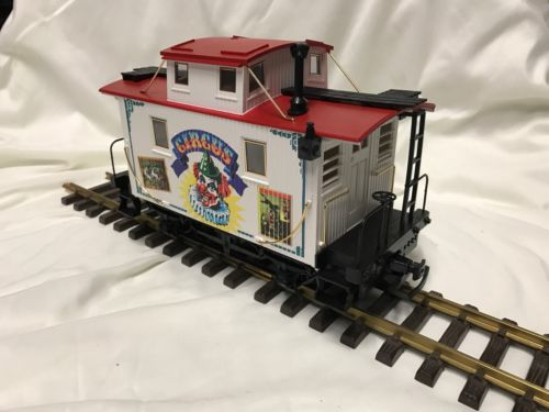 LGB 4165  CIRCUS TRAIN CAR CABOOSE