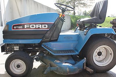 Ford GT85 Garden Tractor with Mower