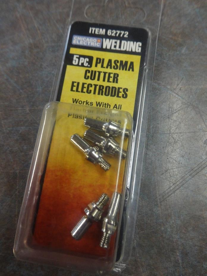 Chicago Electric Plasma cutter cutting electrodes welding tips item 62772 5pcs