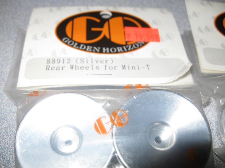 Losi Mini T Front and rear solid aluminum Wheels made by golden horizon