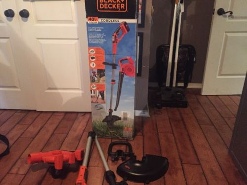 Black And Decker 40v String Trimmer And Blower Missing Parts