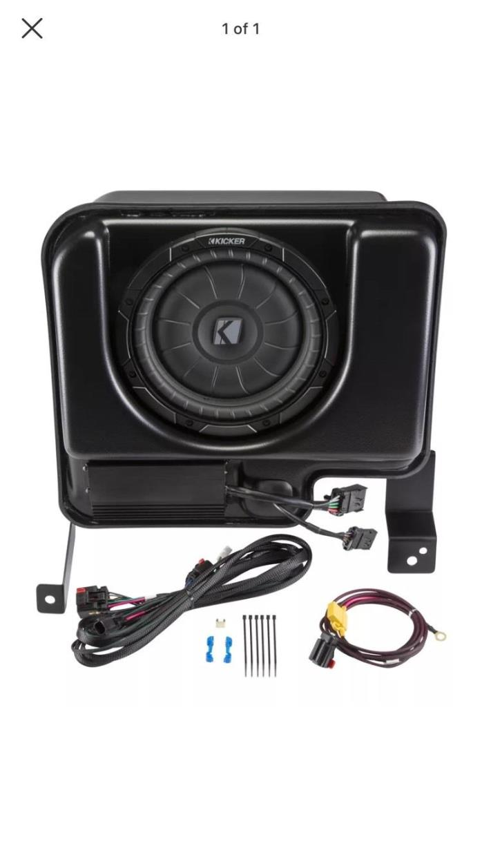 Kicker Amp & Sub Upgrade Kit for Chevy Silverado/GMC Sierra Crew Cab