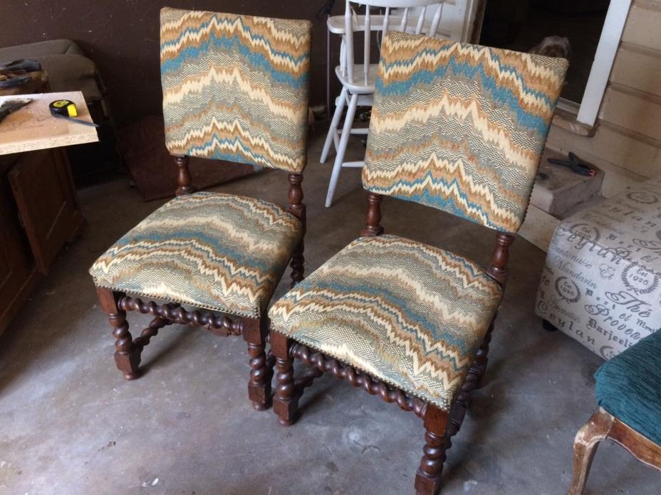 Barley Twist Chairs For Sale Classifieds