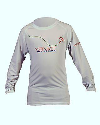 Kid's Yankit HARD Performance Fishing Shirt (White)