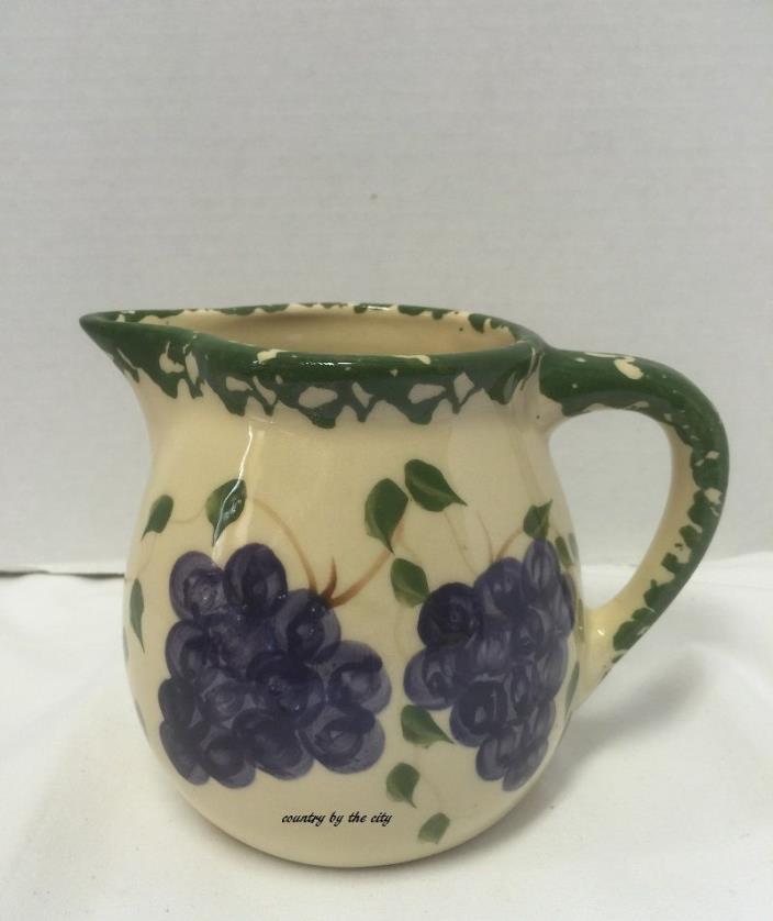 Alpine Pottery Roseville Grapes Pitcher