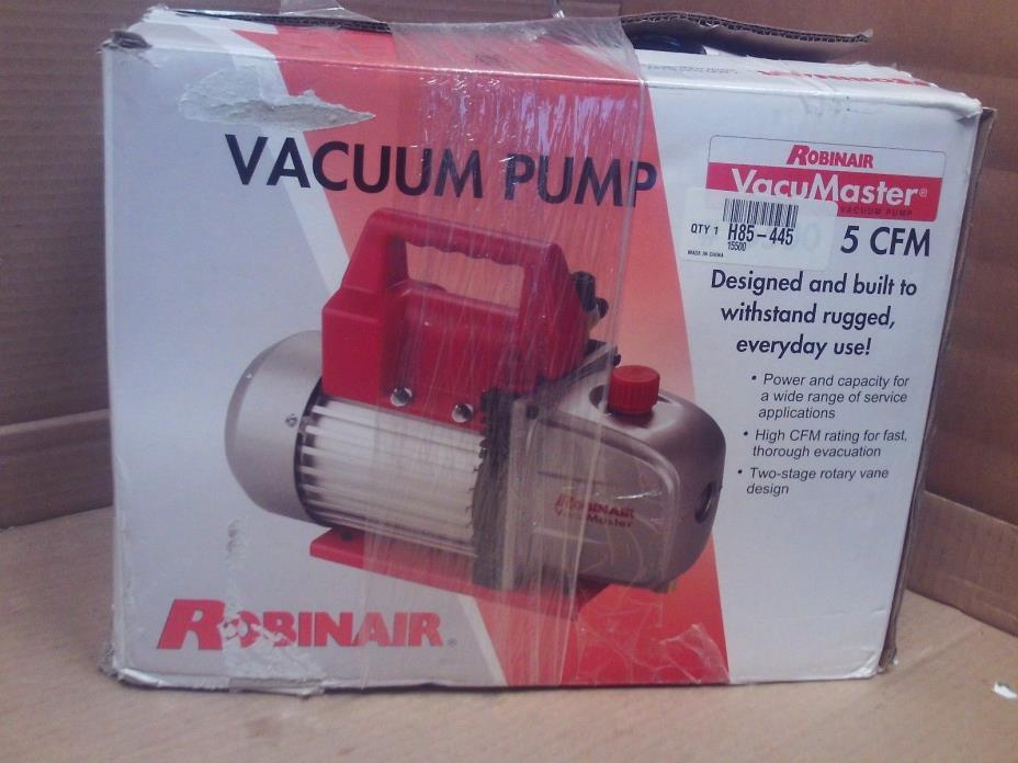 robinair 15500 vacuum pump manual