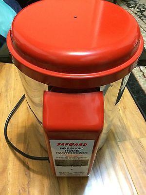 SafGard Pres Vac Pasteurizer 2 Gallon Capacity
