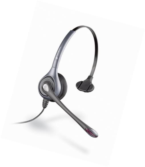 Plantronics SupraPlus SL H351N with Noise Canceling - headset ( 64338-03 )