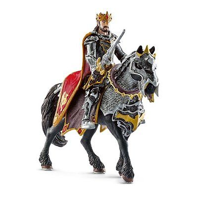 Schleich Accessories Dragon Knight King On Horse Toy Figure