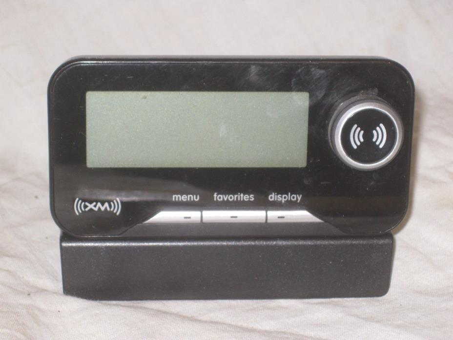 XM  Audiovox 136-4267 receiver w/ 136-4458 base *no power supply