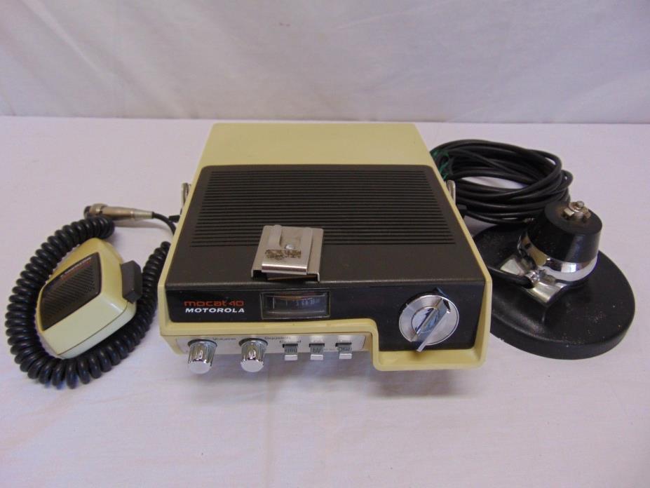 Motorola Cb Radio - For Sale Classifieds