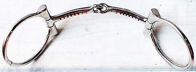 Horse Saddle Tack Circle Ring Stainless Steel snaffle Horse Bit 35507