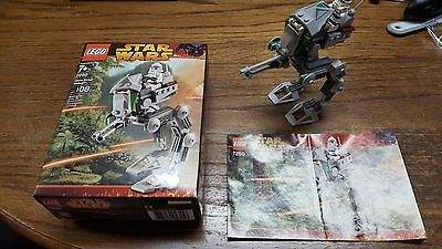 Lego Star Wars CLONE SCOUT WALKER 2005 100% complete with instructions/box