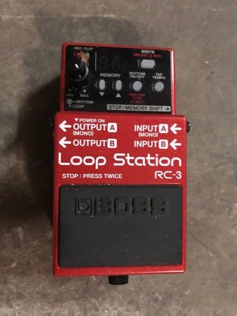 Boss RC-3 Loop Station Guitar Effects Pedal