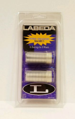 Speed Bearings LABEDA Rated ABEC 5 - 16 Bearings for 8 Wheels