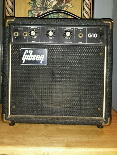Vintage Gibson guitar amplifier