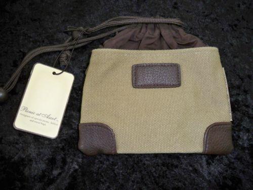 Picnic At Ascot Hudson Small Valuables Bag Rugged Khaki 8006HU
