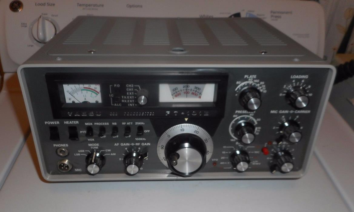 YAESU FT-101E MINT IN ORIGINAL BOX PERFECT WORKING